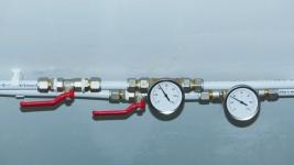 Absperrhähne für Warmwasserzirkulation für Heizung