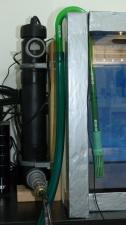 UV-C Klärer aus der Teichtechnik im Filterhauptstrom