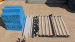 Patronenfilter in Einzelteilen