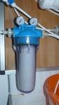 Feinfiltergehäuse mit Manometern